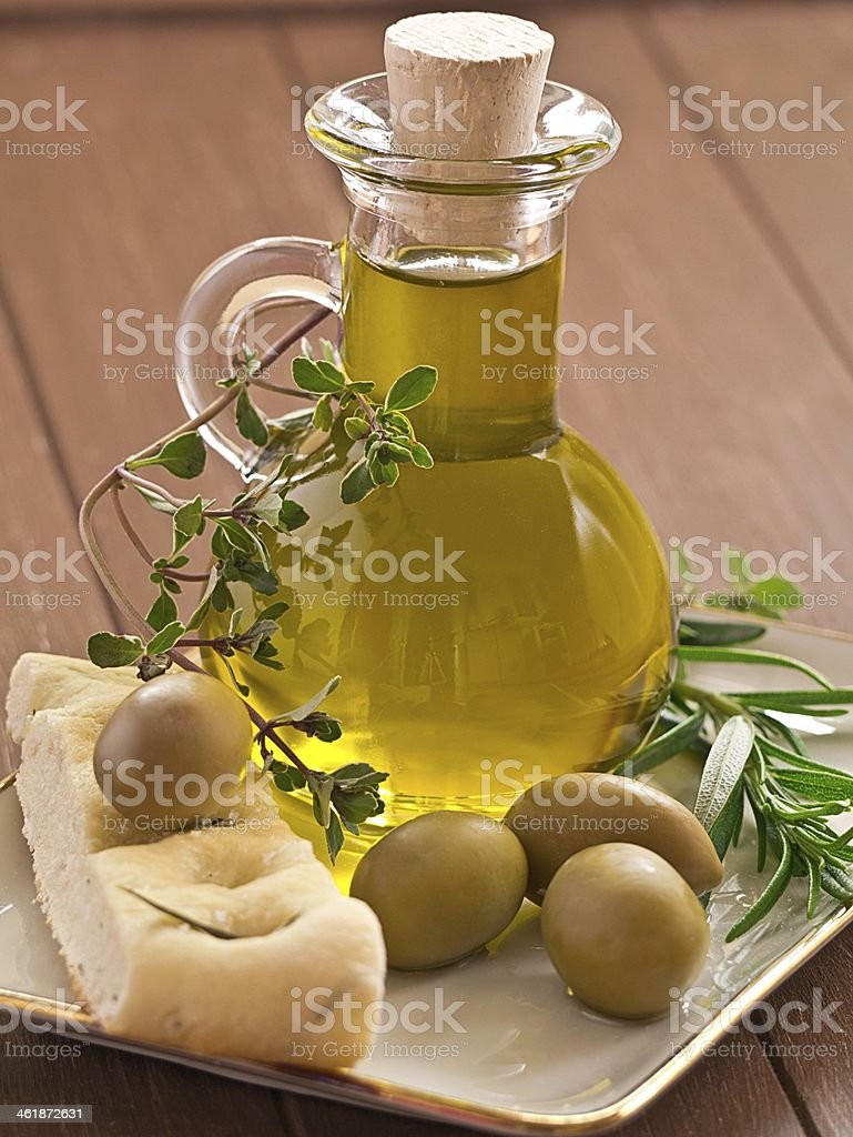 Oliven?l stock photo