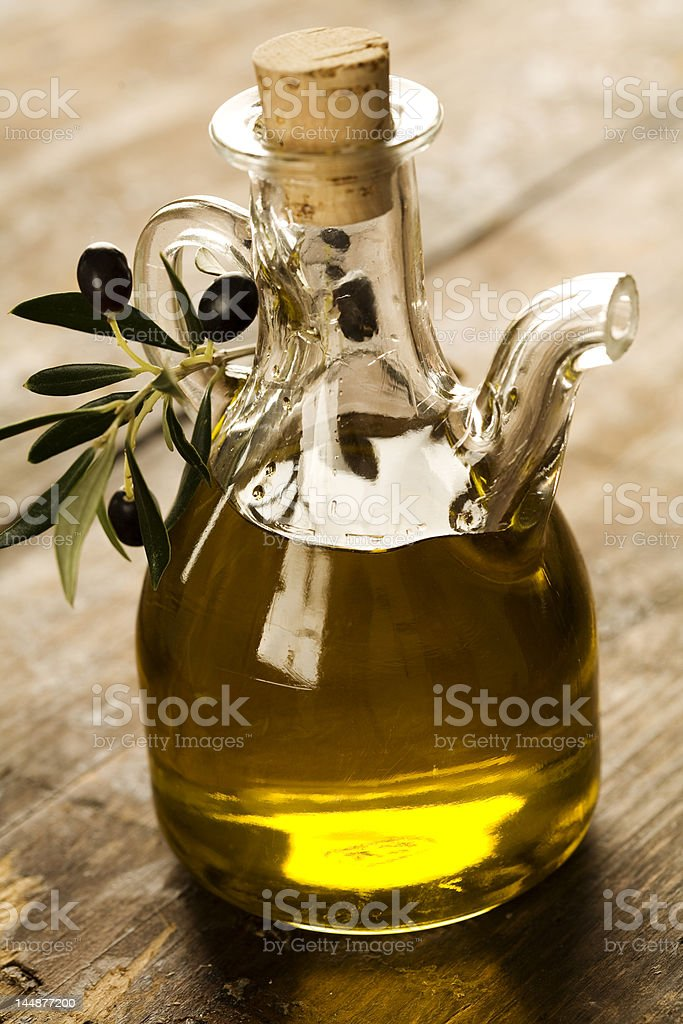 Olive-Oil stock photo