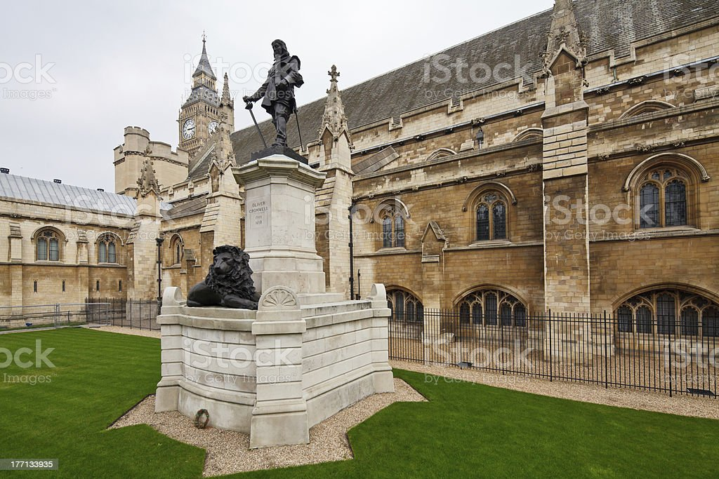 Oliver Cromwell royalty-free stock photo