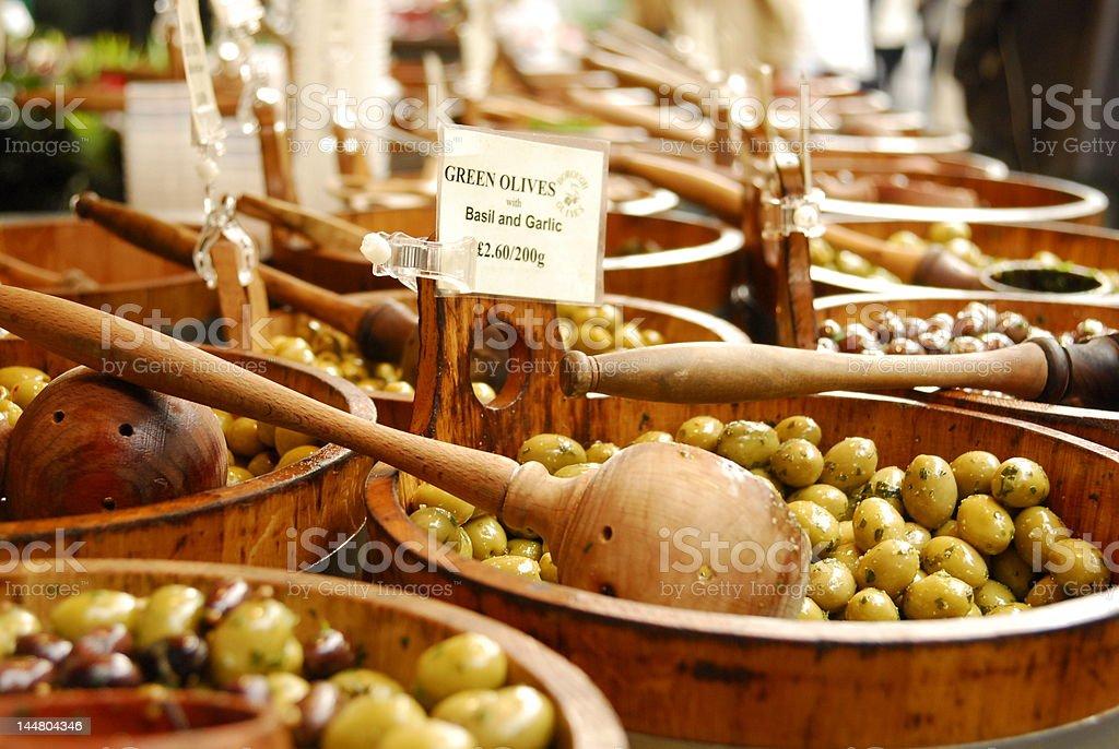 Olives Ahoy stock photo