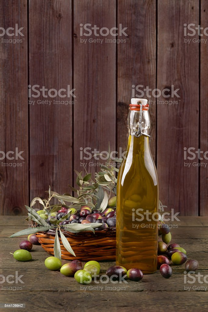 Olives and olive Sicily stock photo