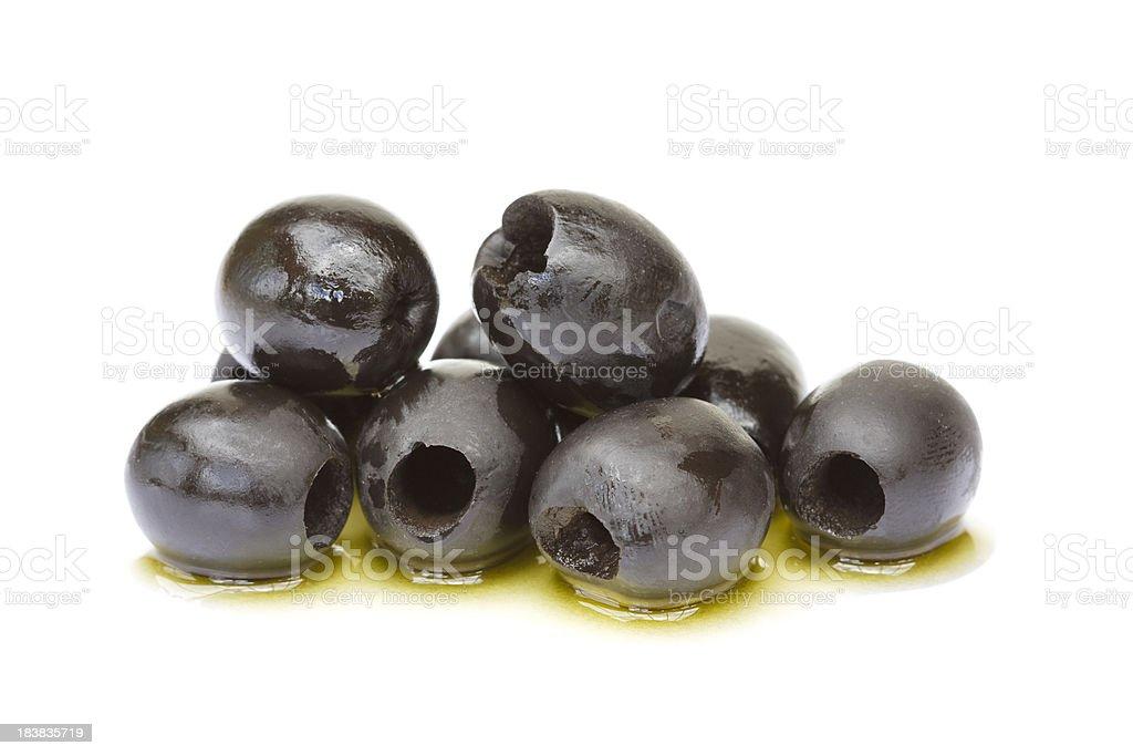 Olives isolated on white stock photo