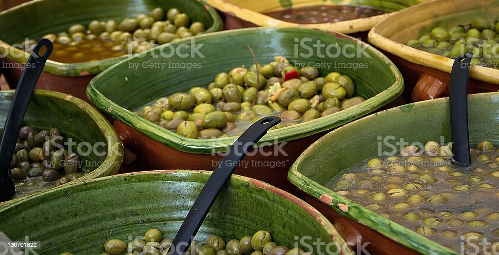 Olives royalty-free stock photo