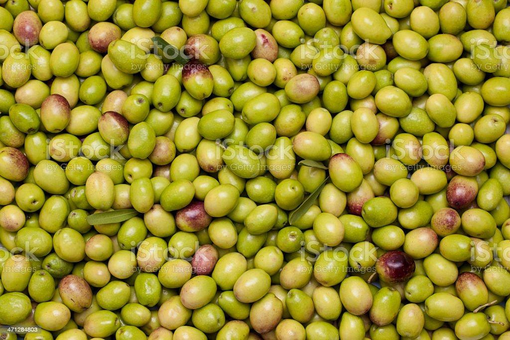 Olives XXXL royalty-free stock photo
