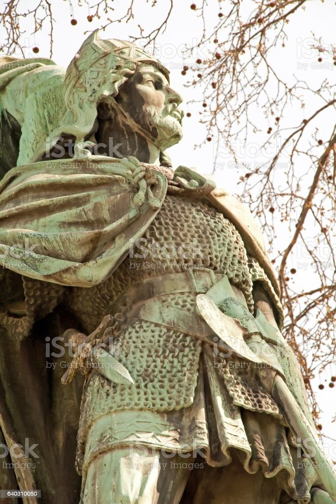 Olivier, lord of the Middle Ages (France) stock photo