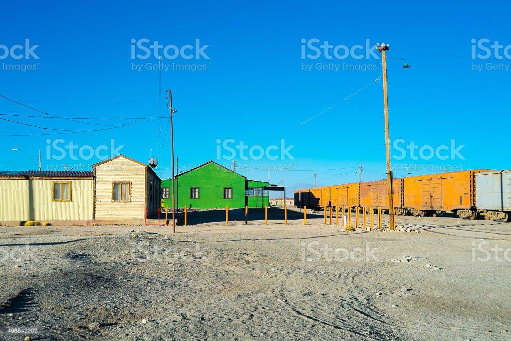 Ollague stock photo