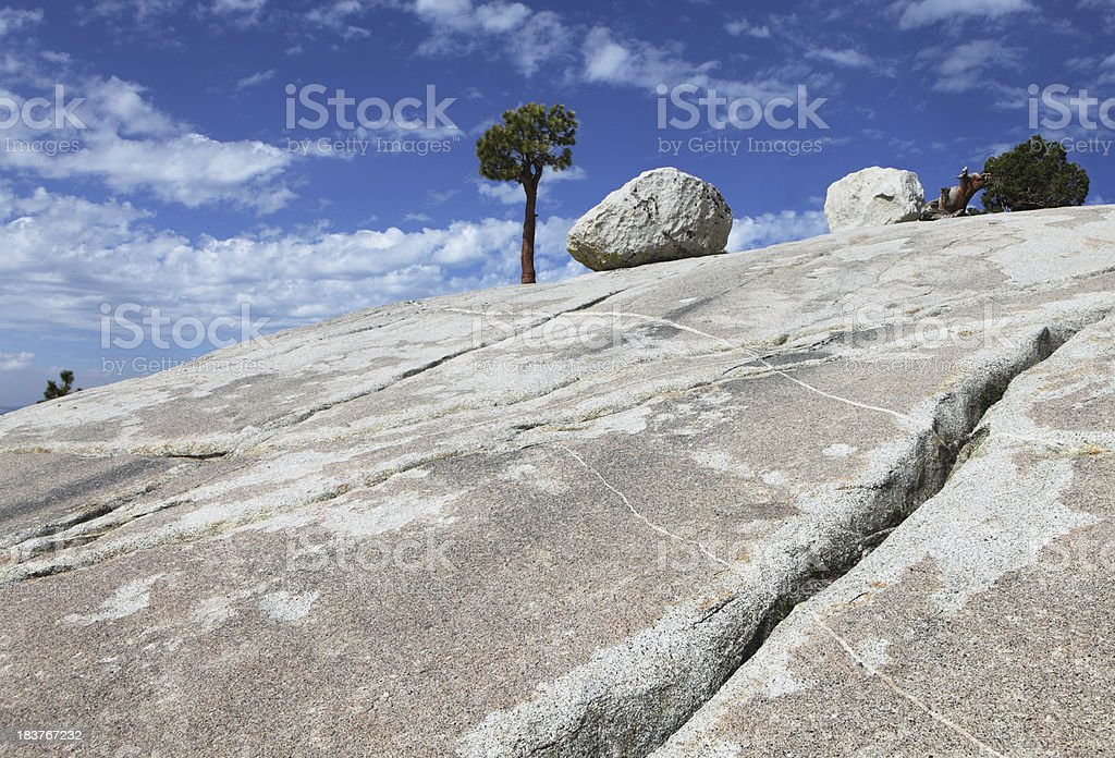 Olmsted Point royalty-free stock photo