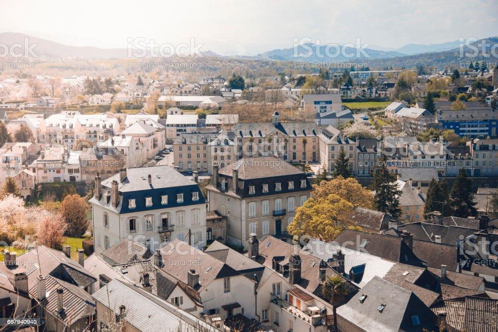 Oloron-Sainte-Marie, France. stock photo