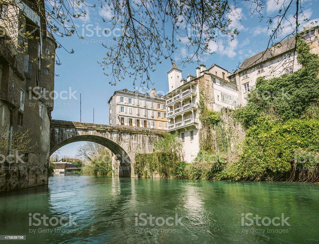 Oloron-Sainte-Marie stock photo