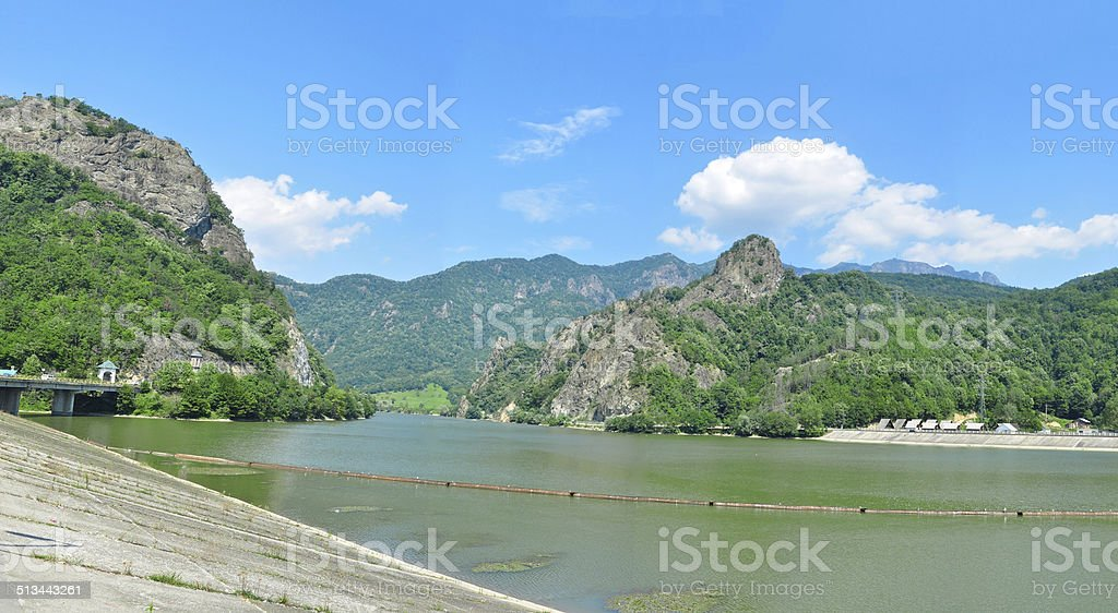 olt river valley stock photo