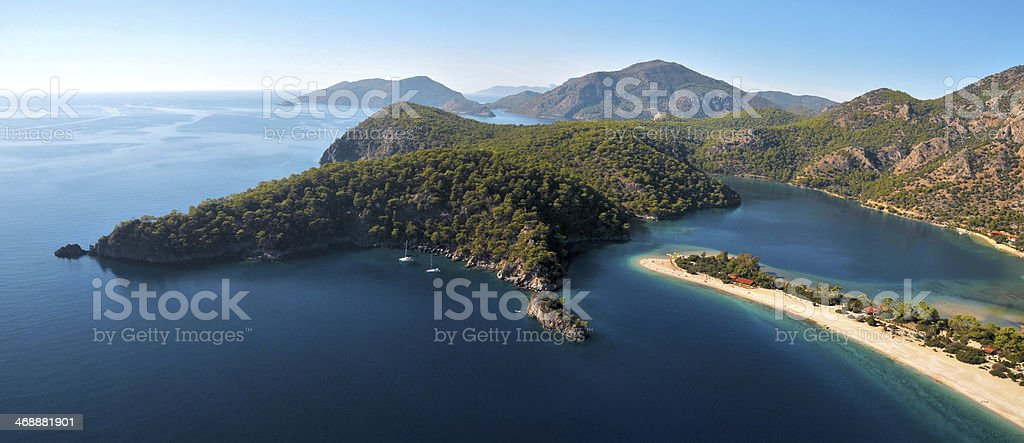 Oludeniz / Fethiye / Mugla / Turkey stock photo