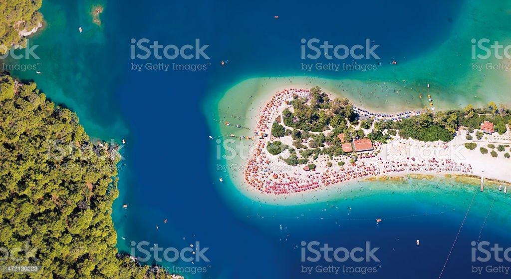 Oludeniz / Fethiye / Mu?la / Turkey - Stock Image stock photo