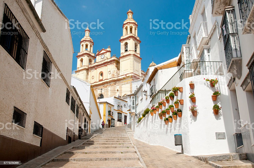Olvera - Spain stock photo