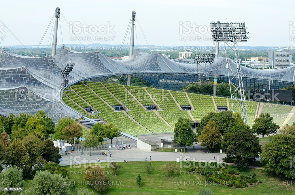 Olympia Stadium stock photo