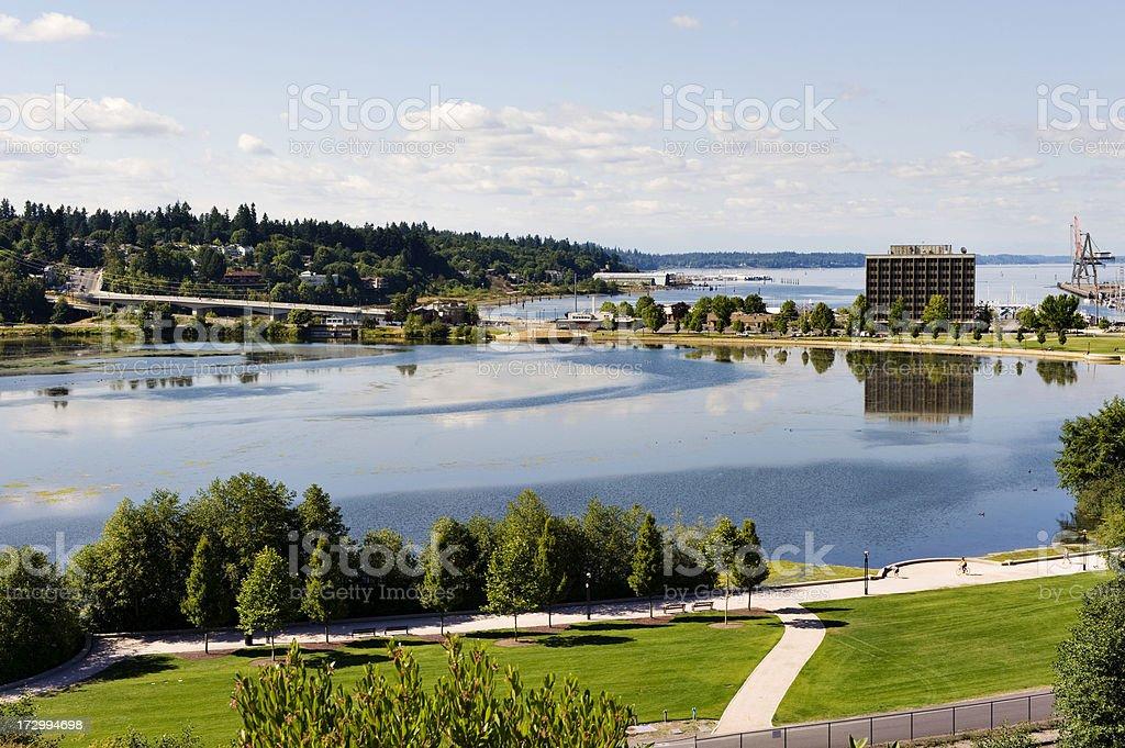 Olympia Views Horizontal stock photo