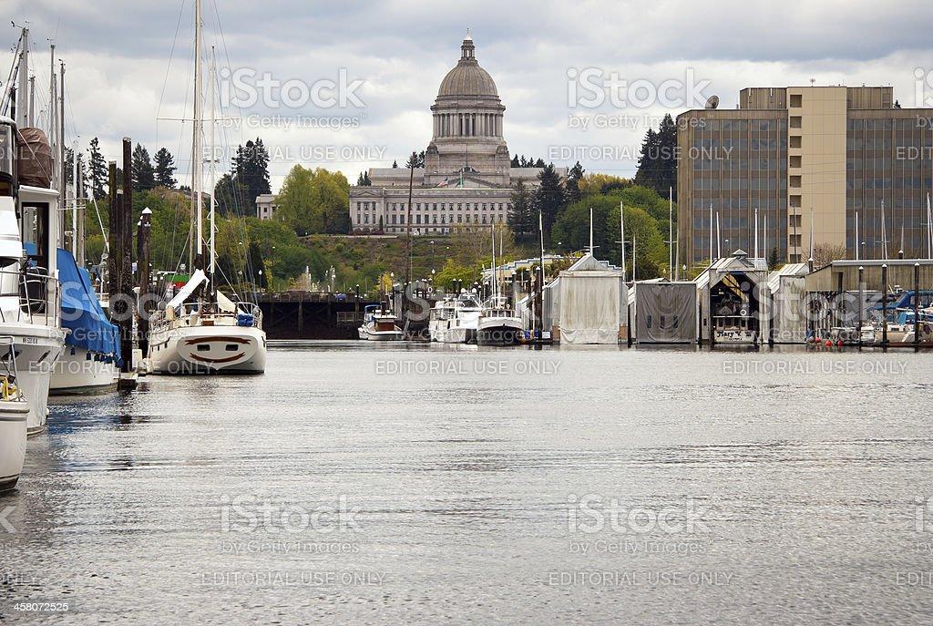 Olympia, Washington stock photo