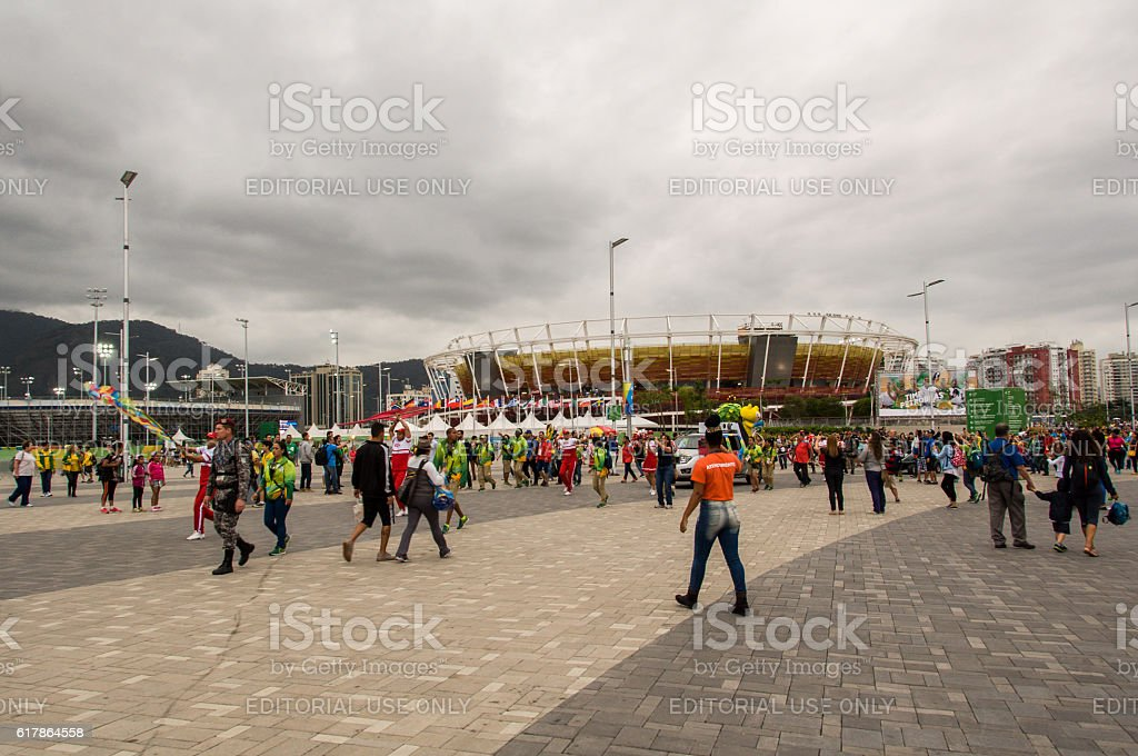 Olympic and Paralympic Park stock photo