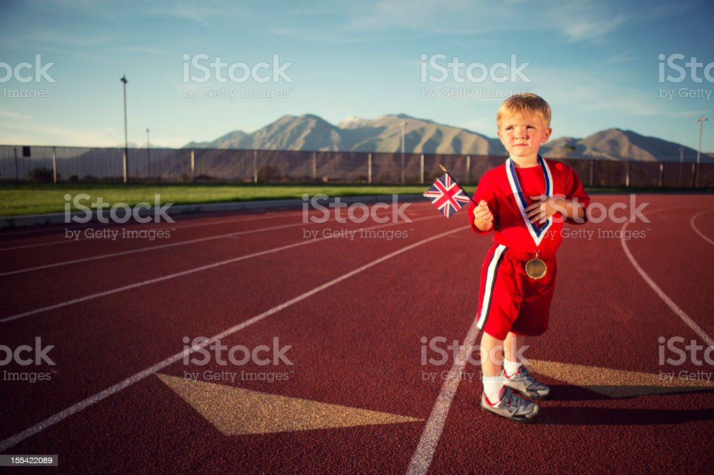 Olympic Dreams stock photo