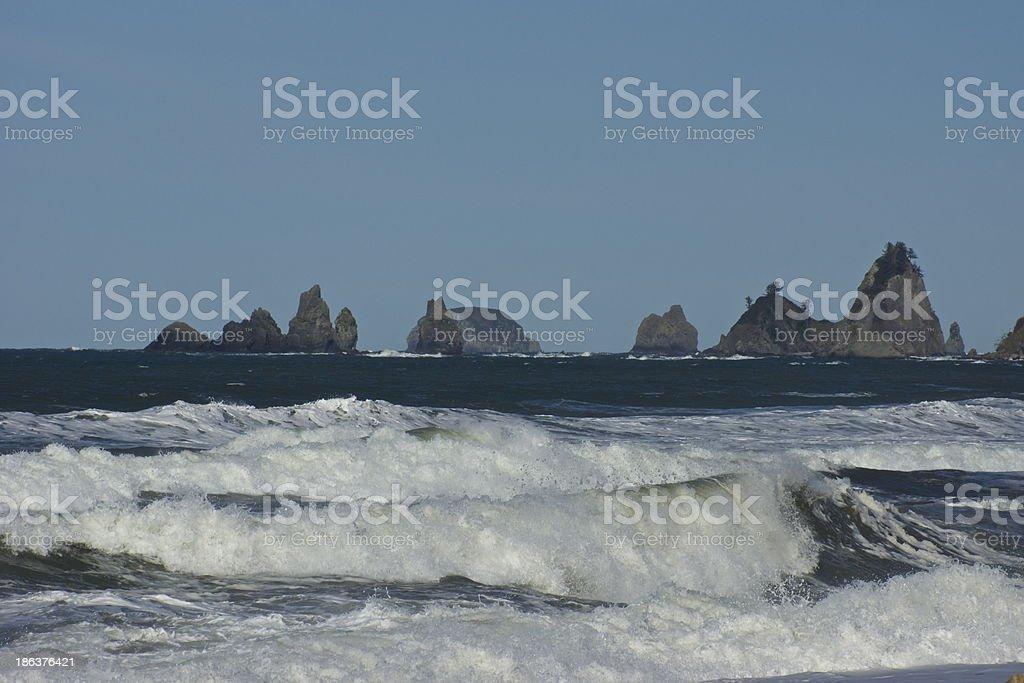 Olympic Ocean stock photo
