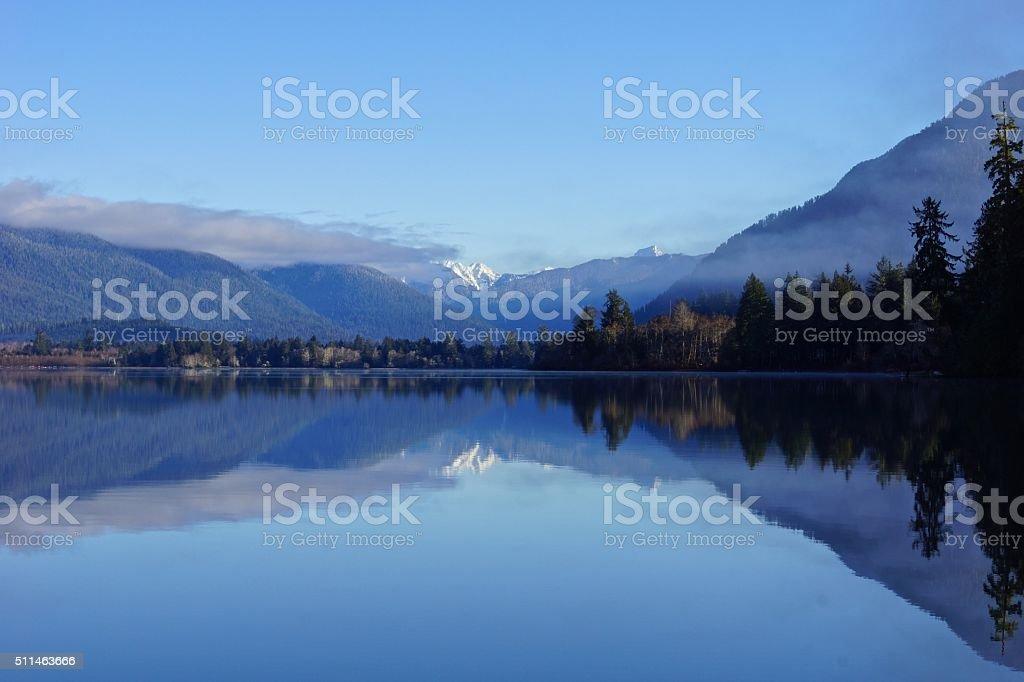 Olympic Park Lake stock photo