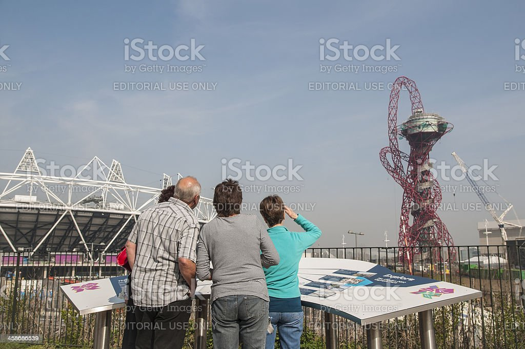 Olympic Park sightseeing stock photo