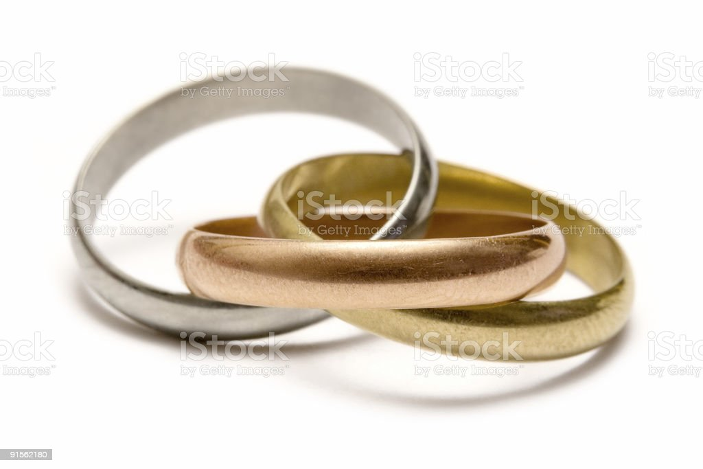 Olympic Rings - Macro royalty-free stock photo