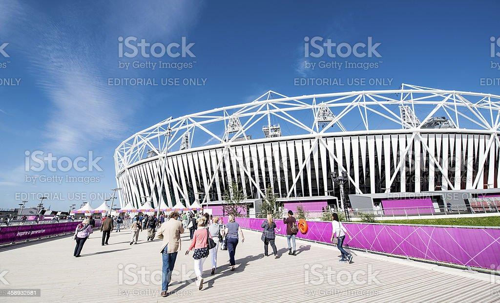 Olympic Stadium royalty-free stock photo