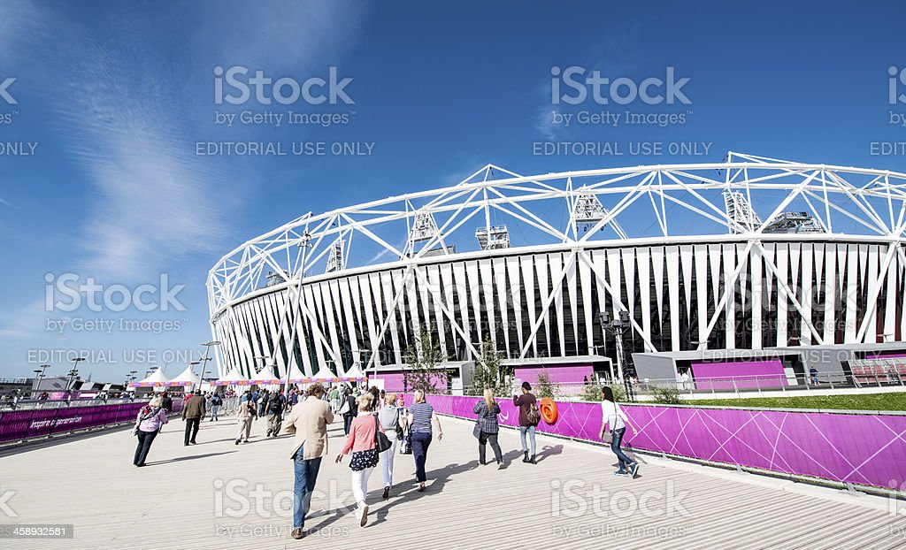 Olympic Stadium stock photo