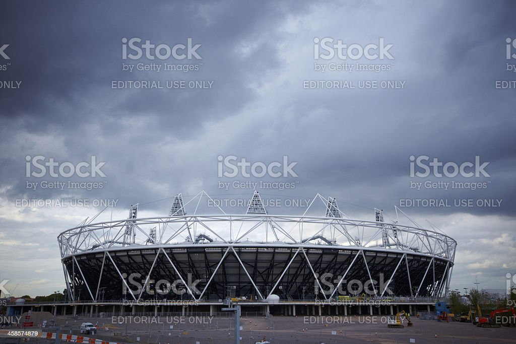 Olympic Staduim, London 2012 royalty-free stock photo