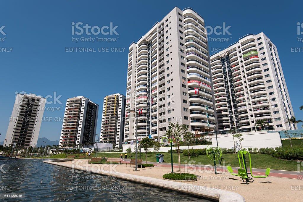 Olympic Village in Rio de Janeiro stock photo