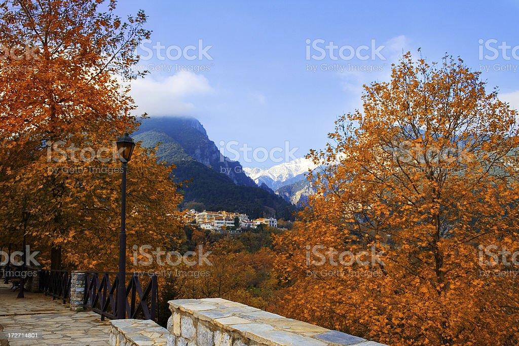 Olympus mountain Greece royalty-free stock photo