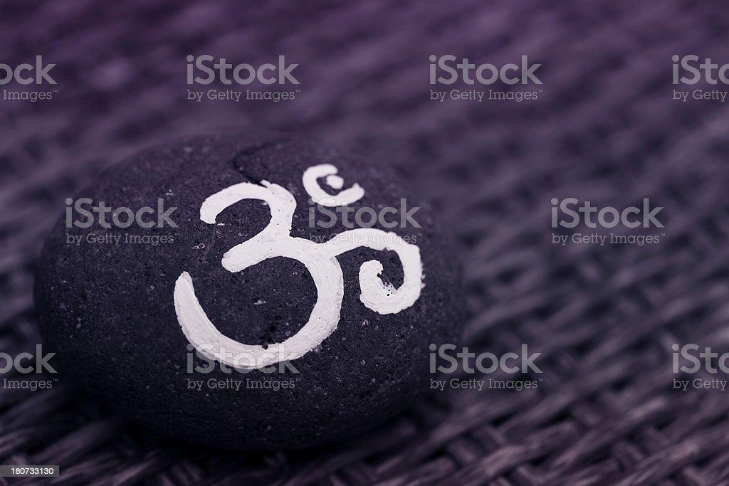 Om Symbol royalty-free stock photo