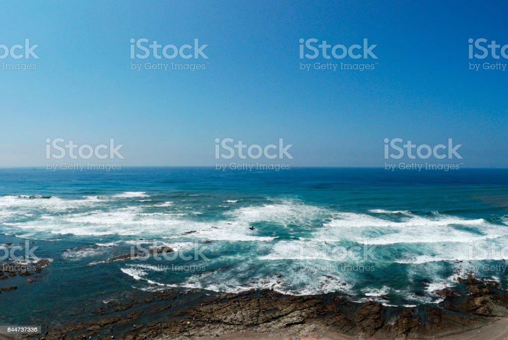 Omaezaki Lighthouse sea stock photo