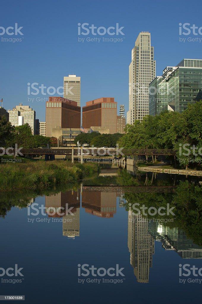 Omaha at Dawn stock photo