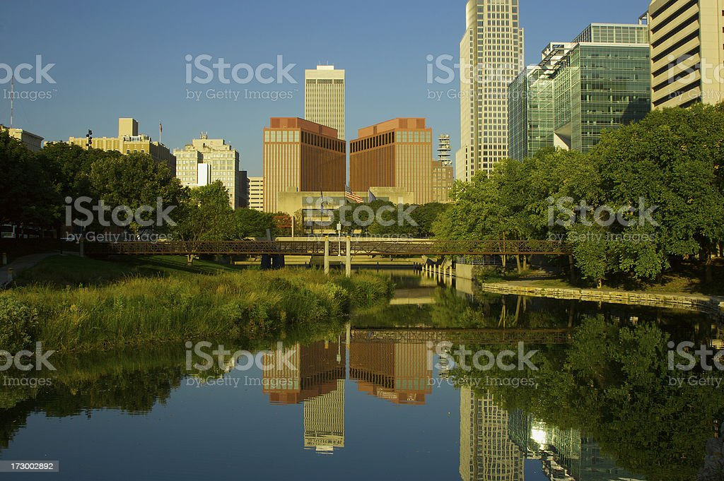 Omaha at Dawn royalty-free stock photo