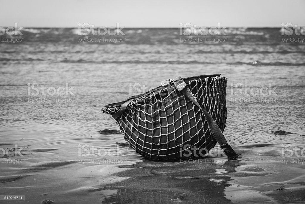 Omaha Beach. stock photo