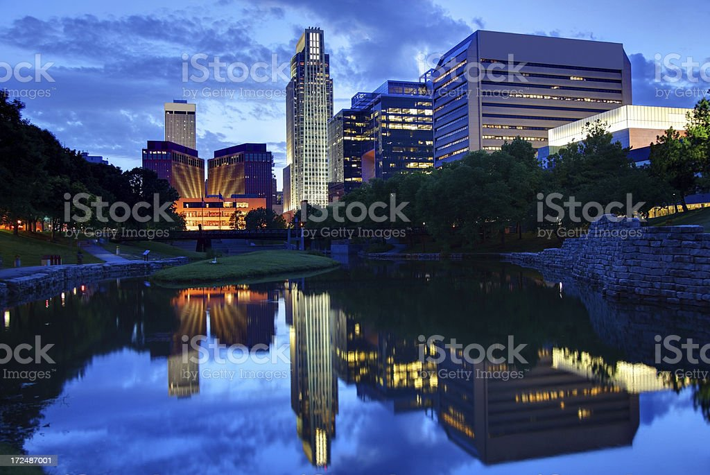 Omaha Nebraska royalty-free stock photo