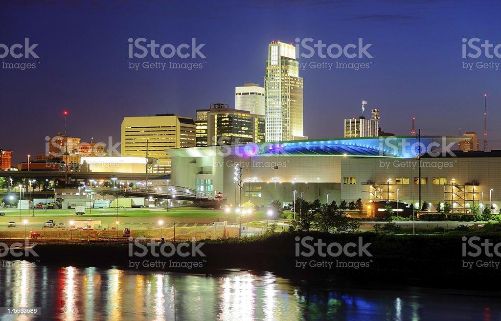 Omaha Nebraska stock photo