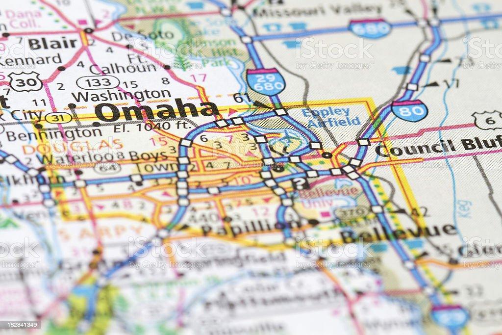 Omaha, Nebraska royalty-free stock photo