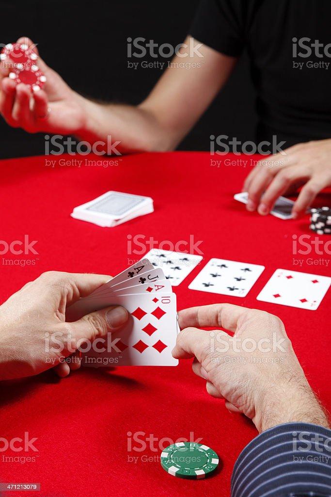 Omaha Poker stock photo