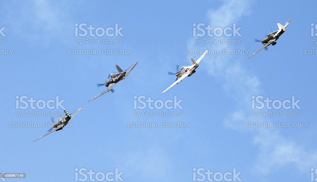 Omaka Air Show, Blenheim, New Zealand royalty-free stock photo