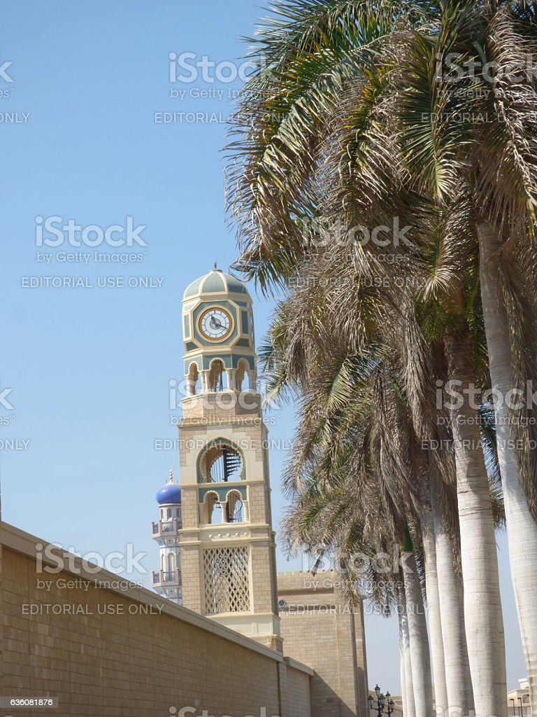 Oman, Salalah, official palace of His Majesty the Sultan stock photo