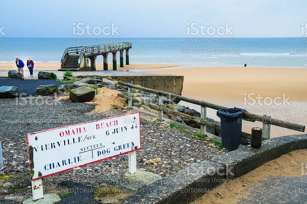 Omana Beach stock photo