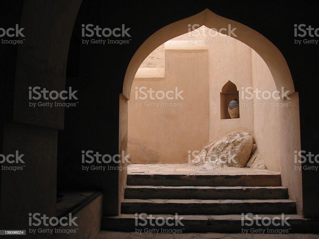 Omani Castle royalty-free stock photo