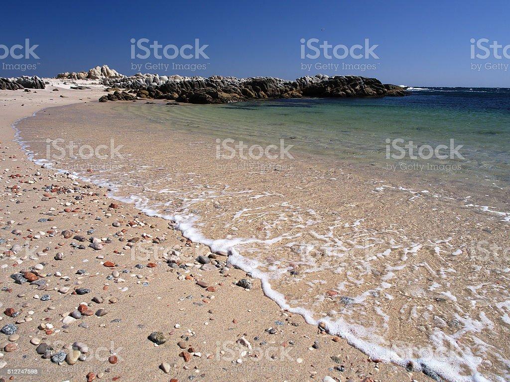 Omani coast near Hasik stock photo