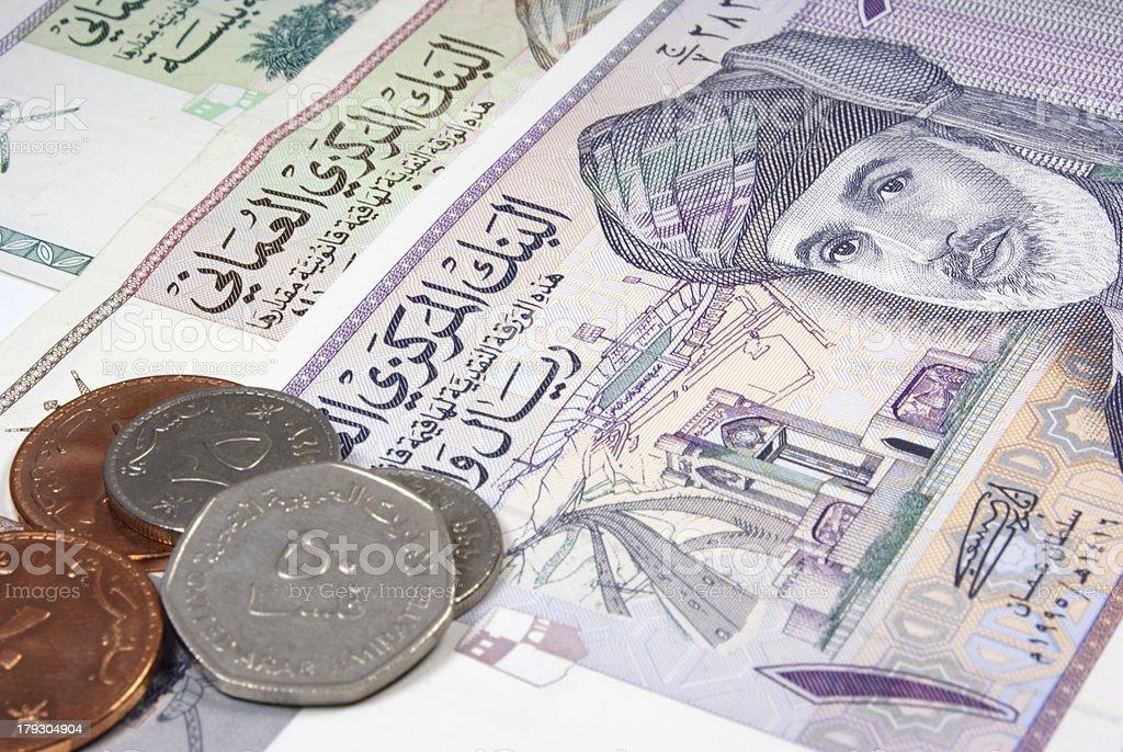 Omani Rial stock photo