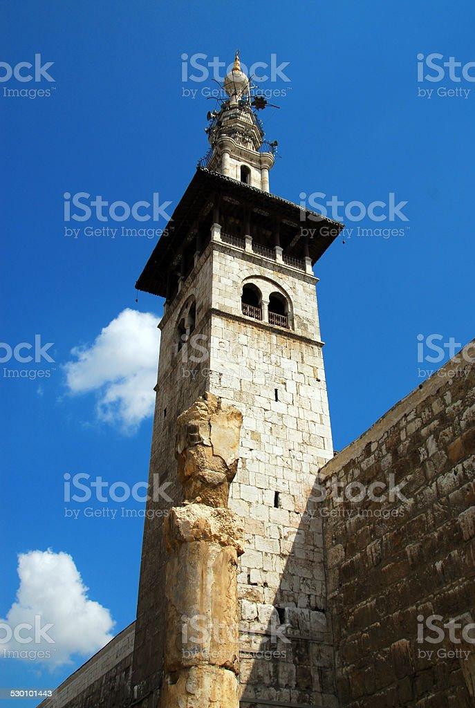 Omayyad Mosque, Damscus, Syria stock photo