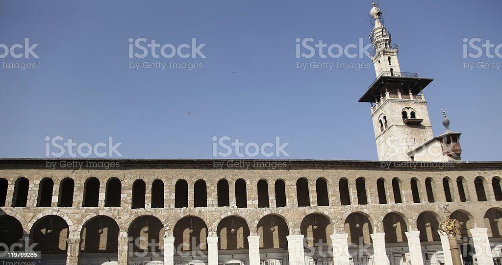 Omayyad Mosque stock photo