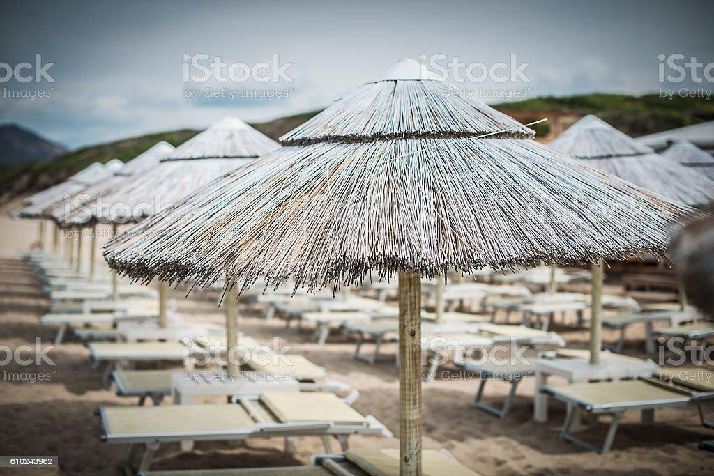 Ombrellone da Spiaggia 1 stock photo