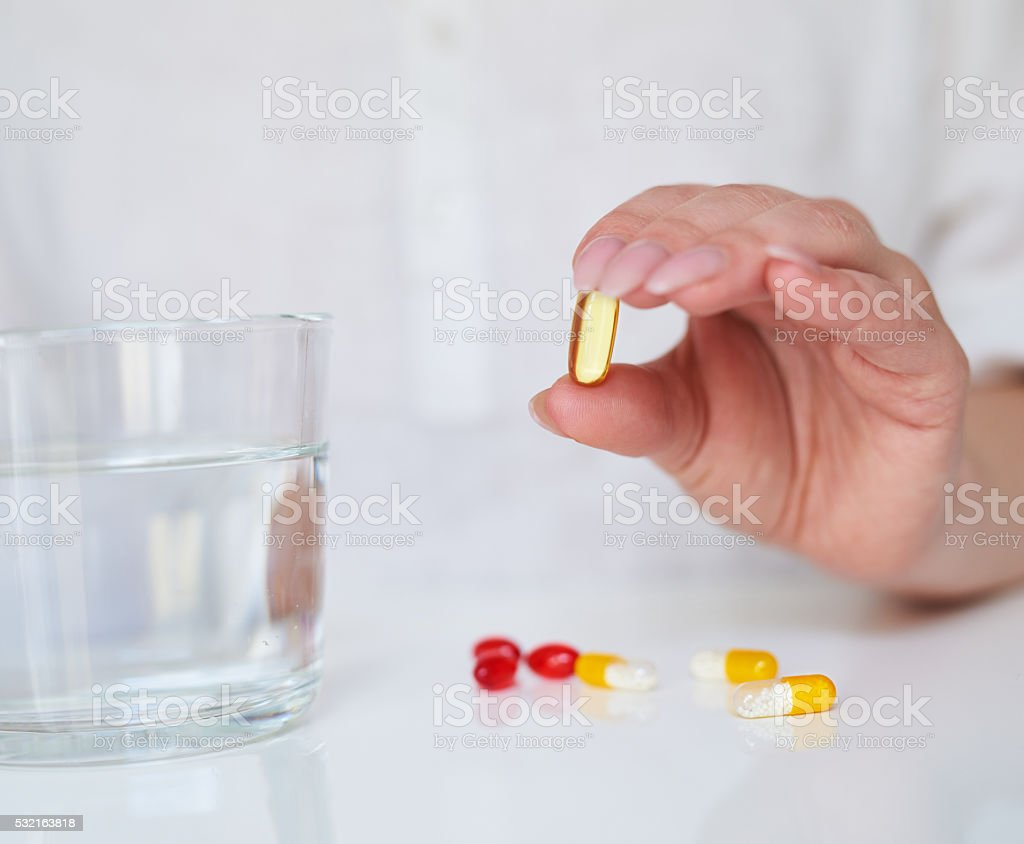 omega 3 for your health stock photo